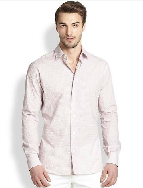 Gancini Cotton Sportshirt by Salvatore Ferragamo in Limitless