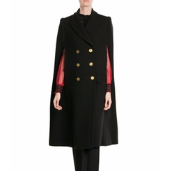 Virgin Wool Cape Coat by Alexander McQueen in Unbreakable Kimmy Schmidt