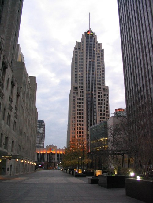 NBC Tower Chicago, Illinois in The Divergent Series: Insurgent