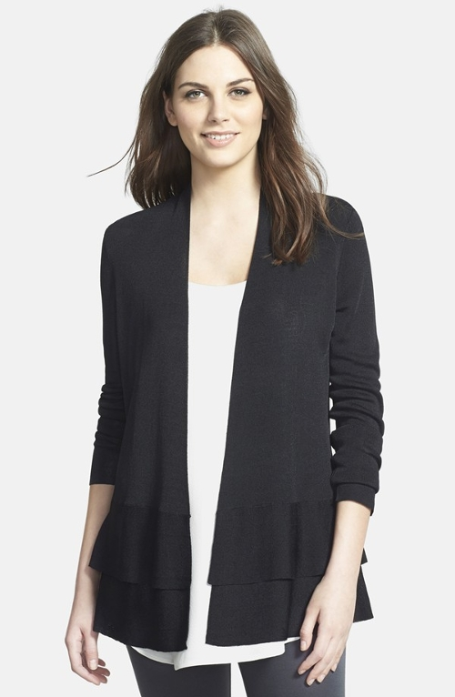 Shaped Cardigan by Eileen Fisher in Ted 2