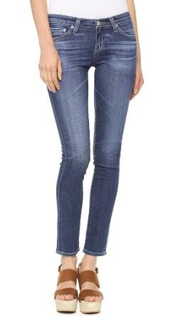The Stilt Cigarette Leg Jeans by AG Adriano Goldschmied in What If