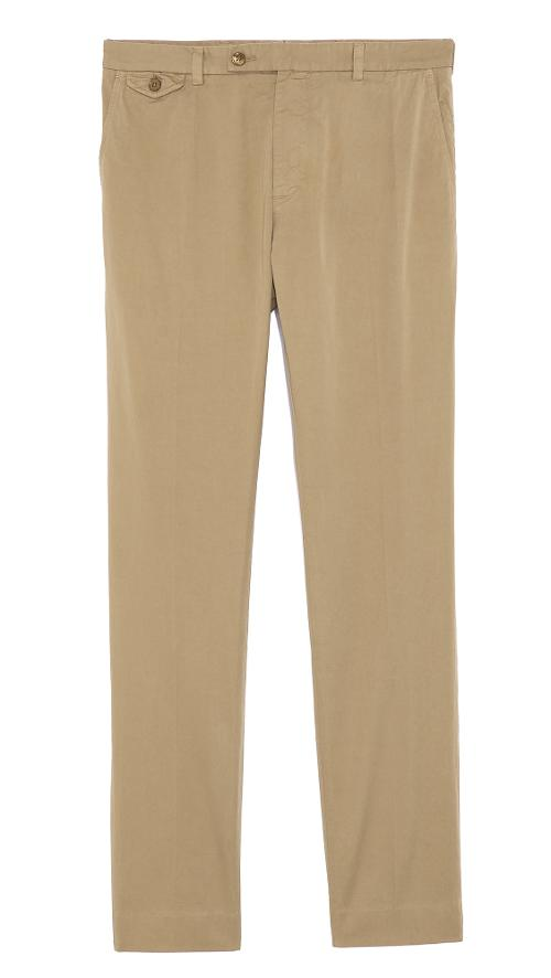 Cotton Twill Chinos by Carven in Ted