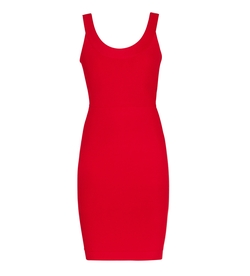Caspar Sleeveless Body-Con Dress by BCBGMaxazria in Rosewood