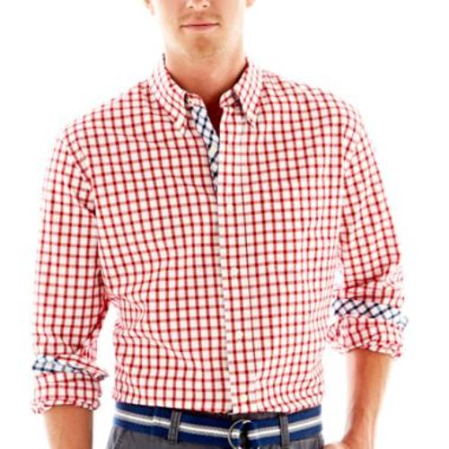 Felix Plaid Shirt by Stafford Prep in Ride Along