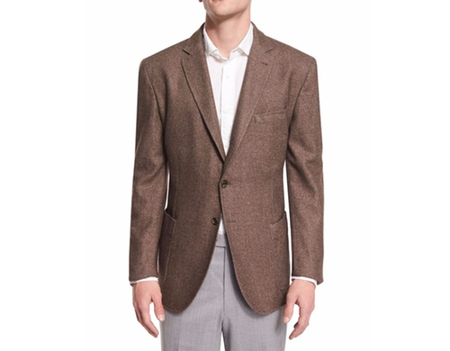 Lightweight Dyed Sports Blazer by Robert Talbott in Fist Fight