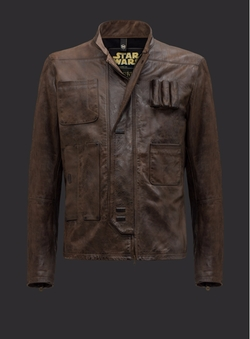 Men's Han Solo Jacket by Matchless in Star Wars: The Force Awakens