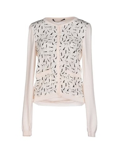 Printed Knitted Cardigan by Maurizio Pecoraro in Love Actually