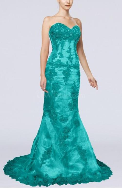 Turquoise Evening Dresses by UW Dress in Jupiter Ascending