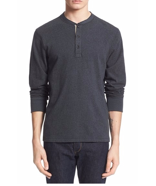Standard Issue Henley Shirt by Rag & Bone in The Night Manager - Season 1 Looks