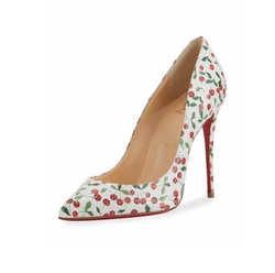 Pigalle Follies Cerise Red Sole Pumps by Christian Louboutin in Scream Queens