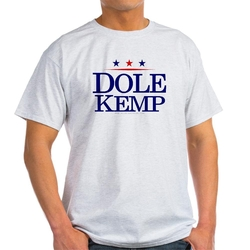 Dole Kemp Ash Grey Light T-Shirt by CafePress in Everest