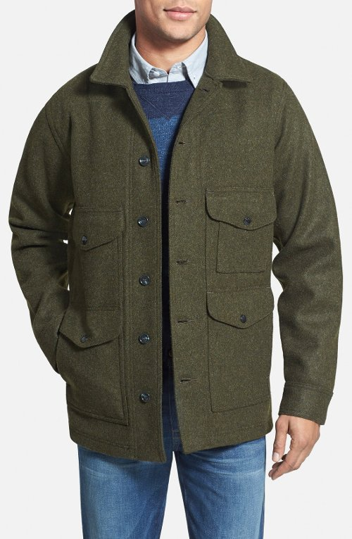 Mackinaw Cruiser Wool Jacket by Filson in The Age of Adaline
