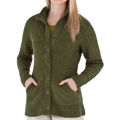 Chenille Cardigan Sweater by Royal Robbins in Captive