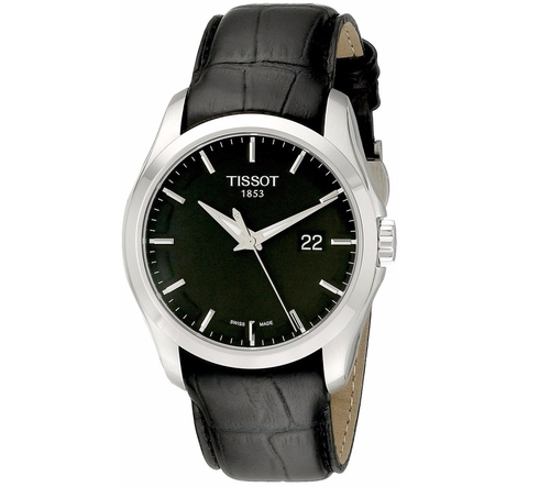 Men's Couturier Black Dial Strap Watch by Tissot in The Night Manager - Season 1 Looks