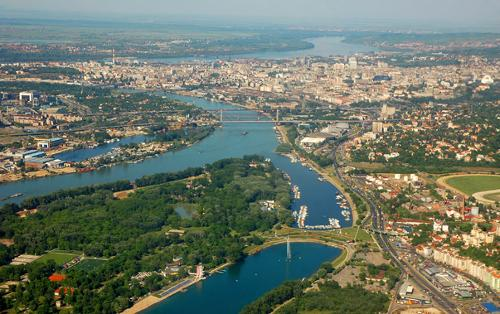 Belgrade Serbia in The November Man