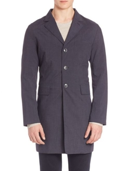 Wolger 65 Technology Trench Coat by J. Lindeberg in Doctor Strange