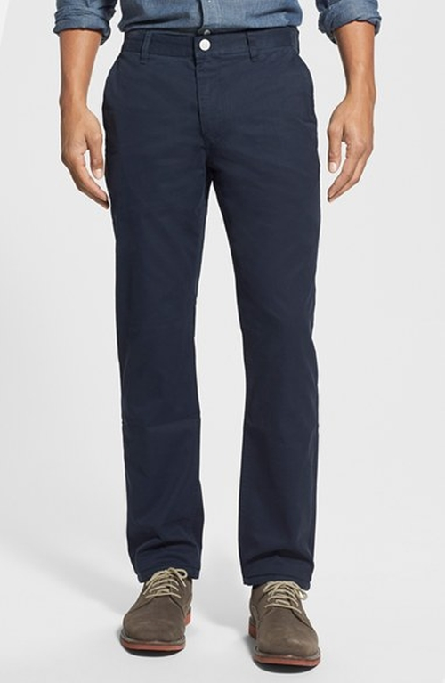 Slim Fit Washed Cotton Chinos by Bonobos in Steve Jobs