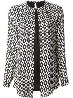Geometric Print Blouse by Etro in Ouija