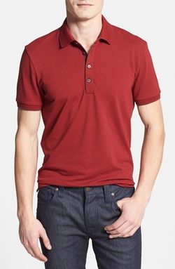 'Firenze' Regular Fit Piqué Polo Shirt by Boss in Daddy's Home