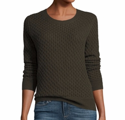 Estelle Cable-Knit Sweater by Paige Denim in Supergirl