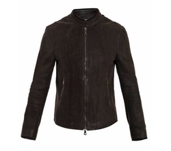 Leather Zip Jacket by John Varvatos in Arrow
