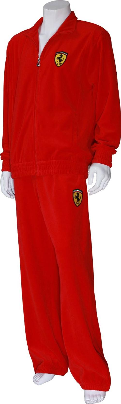 Ferrari Velour Men's Tracksuit by Fila in Hot Tub Time Machine 2