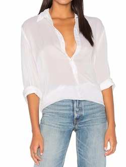Tennessee Silk Button Up  Top by Cp Shades in House of Cards