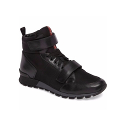 High Top Sneakers by Prada Linea Rossa in Empire