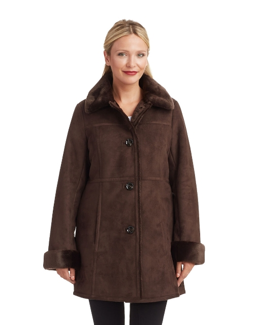 Accented Walker Coat by Portrait in Adult Beginners