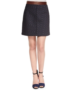 Lanitta Heighten Skirt by Theory in Brooklyn Nine-Nine