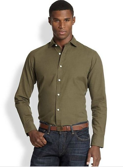 Poplin Estate Sportshirt by Polo Ralph Lauren in Horrible Bosses 2