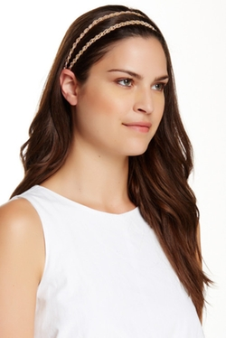 Double Twist Stretch Headband by Natasha Accessories in Pitch Perfect 2