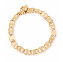 Gemini Link Chain Bracelet by Tory Burch in The Fate of the Furious