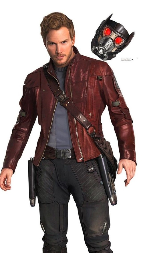 Custom Made Leather Jacket (Peter Quill / Star-Lord) by Alexandra Byrne (Costume Designer) in Guardians of the Galaxy Vol. 2