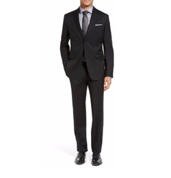 Drop 7 Trim Fit Wool Suit by Z Zegna in Jason Bourne