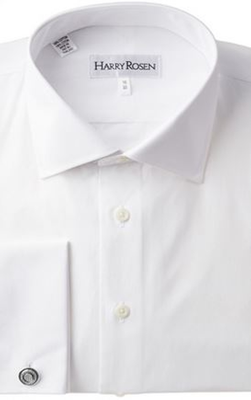 French Cuff Dress Shirt by Harry Rosen in Suits - Season 5 Episode 5