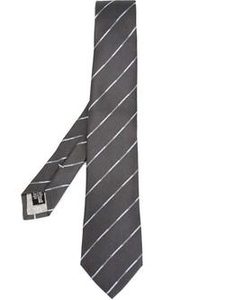 Striped Tie by Armani Collezioni in Elementary