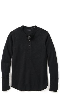 Base Henley Shirt by Wings + Horns in The Disappearance of Eleanor Rigby