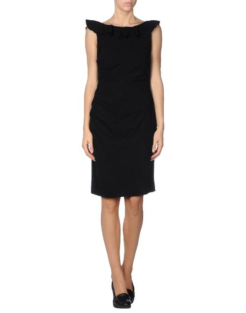 Knee-length dress by MOSCHINO CHEAPANDCHIC in Yves Saint Laurent