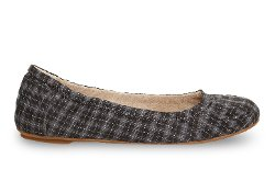 Plaid Ballet Flat Shoes by Toms in Crazy, Stupid, Love.