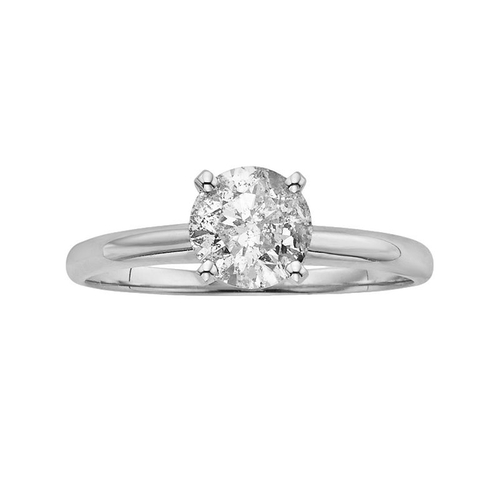 Round-Cut Diamond Solitaire Engagement Ring by Kohl's in Ballers - Season 1 Episode 1