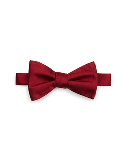 Solid Satin Pre-Tied Bow Tie by The Men's Store at Bloomingdale's in Scream Queens