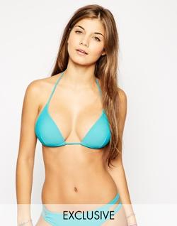 Mix and Match Molded Triangle Bikini Top by South Beach in Pain & Gain