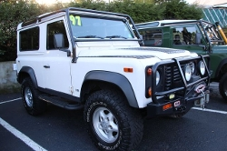 1997 Defender 90 SUV by Land Rover in Safe House