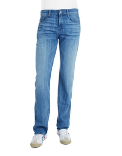 Carsen Straight Legged Jeans by 7 For All Mankind in Inherent Vice