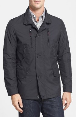 Hamilton Water Resistant Military Jacket by Sanyo in The Age of Adaline