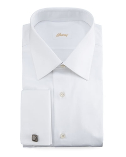 French-Cuff Dress Shirt by Brioni in Suits