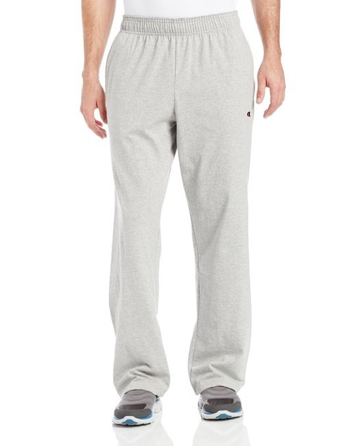 Men's Open Bottom Jersey Pants by Champion in McFarland, USA