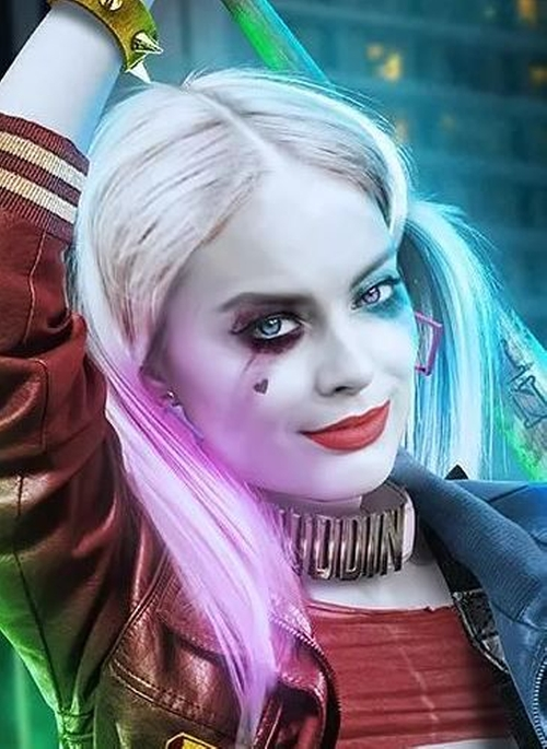 """Custom Made """"Puddin"""" Collar Necklace by Kate Hawley (Costume Designer) in Suicide Squad"""