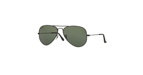 Aviator Large Metal Sunglasses by Ray-Ban in Gold